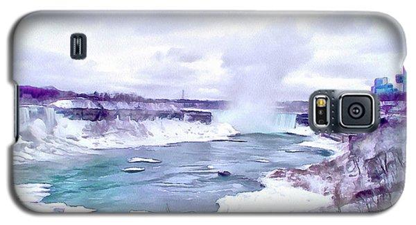 Winter In Niagara 1 Galaxy S5 Case