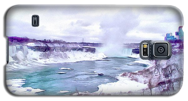Winter In Niagara 1 Galaxy S5 Case