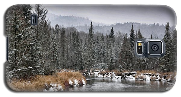 Galaxy S5 Case featuring the photograph Winter In The Adirondack Mountains - New York by Brendan Reals