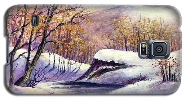 Winter In The Garden Of Eden Galaxy S5 Case by Randy Burns