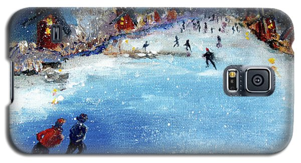 Winter In The Netherlands Galaxy S5 Case