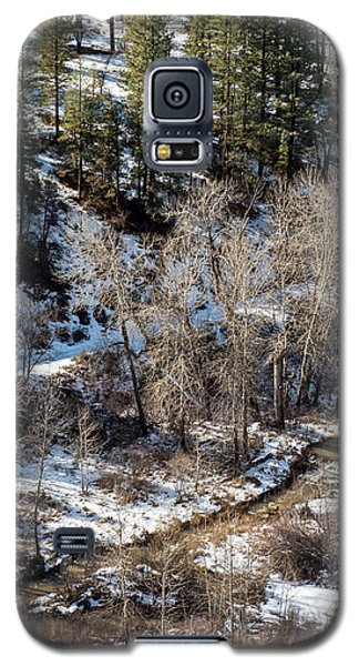 Winter In The Susan River Canyon Galaxy S5 Case