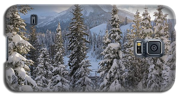 Winter In The Wasatch Galaxy S5 Case