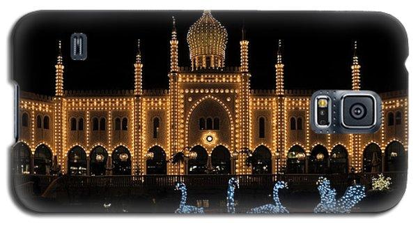 Winter In Tivoli Gardens Galaxy S5 Case by Inge Riis McDonald
