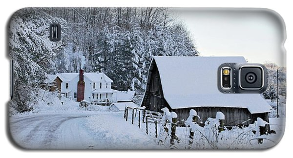 Winter In Virginia Galaxy S5 Case