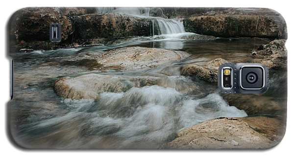 Galaxy S5 Case featuring the photograph Winter Inthe Falls by Iris Greenwell