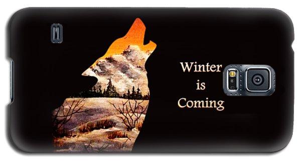 Winter Is Coming Galaxy S5 Case by Anastasiya Malakhova