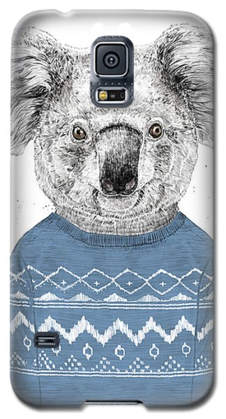 Koala Galaxy S5 Case - Winter Koala by Balazs Solti
