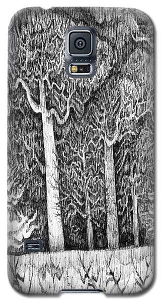 Winter Lace Galaxy S5 Case by Anna  Duyunova