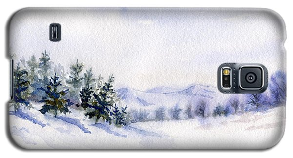 Winter Landscape Snow Scene Galaxy S5 Case