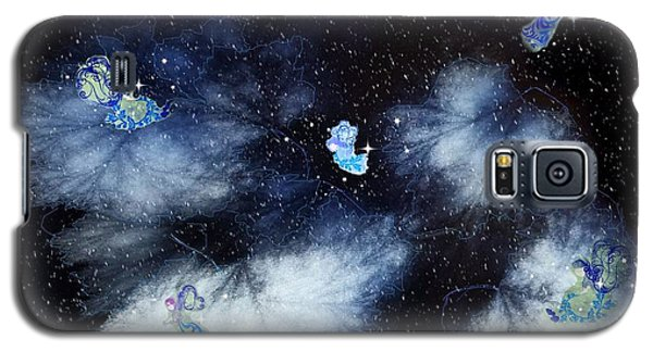 Winter Leaves And Fairies Galaxy S5 Case