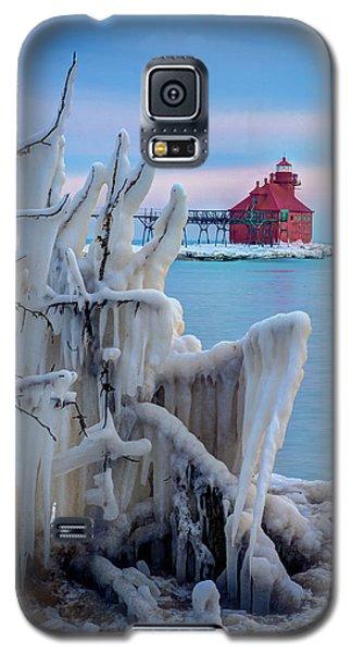 Winter Lighthouse Galaxy S5 Case