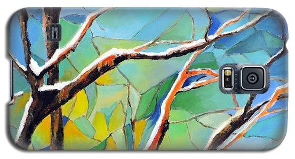 Winter Locust Tree Galaxy S5 Case