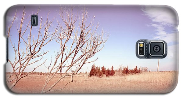 Galaxy S5 Case featuring the photograph Winter Marshlands by Colleen Kammerer