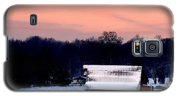 Galaxy S5 Case featuring the photograph Winter Morn by Diane Merkle