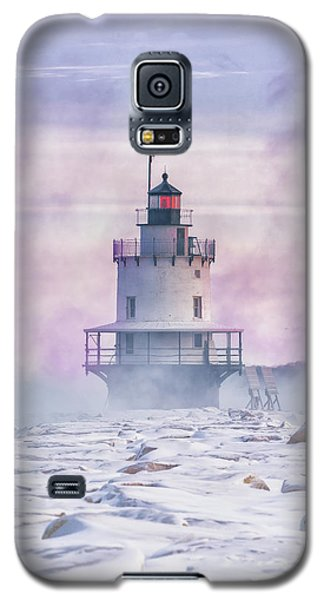 Winter Morning At Spring Point Ledge Galaxy S5 Case