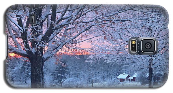 Winter Morning Galaxy S5 Case by John Burk