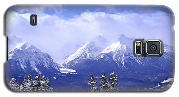 Mountain Galaxy S5 Case - Winter Mountains by Elena Elisseeva