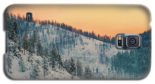 Winter Mountainscape  Galaxy S5 Case