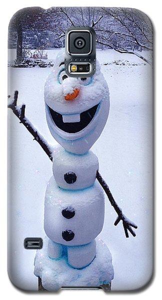 Winter Olaf Galaxy S5 Case