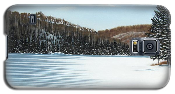 Winter On An Ontario Lake  Galaxy S5 Case