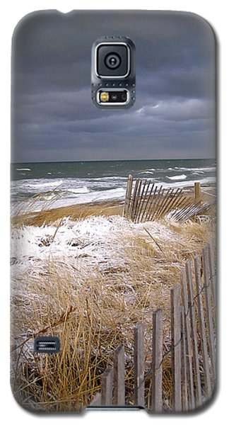 Winter On Cape Cod Galaxy S5 Case by Charles Harden
