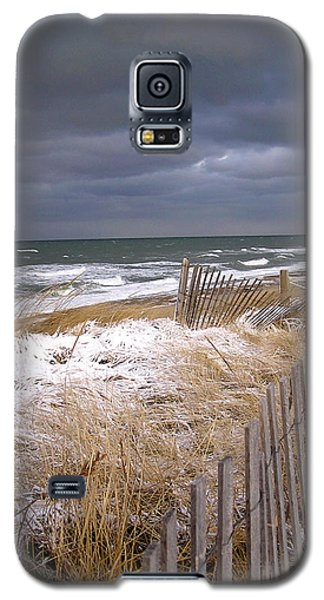 Winter On Cape Cod Sandy Neck Beach Galaxy S5 Case