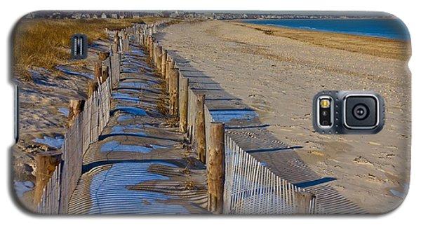 Winter On Duxbury Beach Galaxy S5 Case