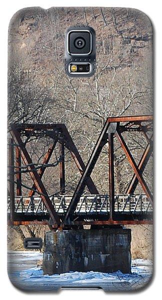 Winter On Knapps Creek Galaxy S5 Case