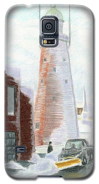 Winter On Munjoy Hill Galaxy S5 Case