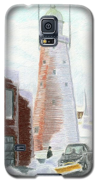 Winter On Munjoy Hill Galaxy S5 Case