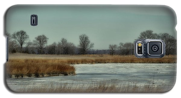 Galaxy S5 Case featuring the photograph Winter On The Water by Tamera James