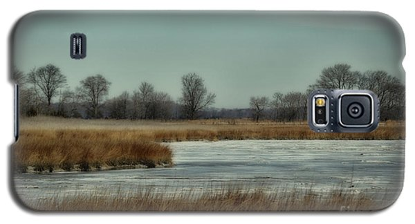 Winter On The Water Galaxy S5 Case