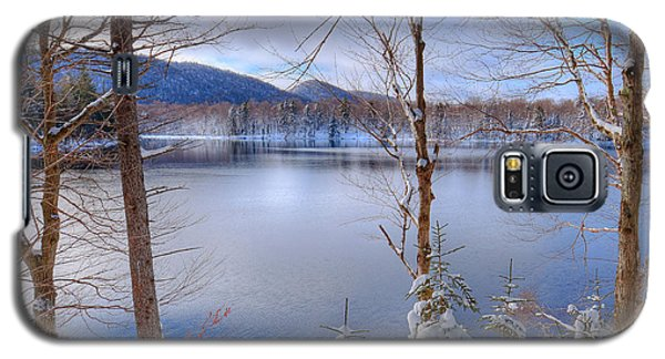 Winter On West Lake Galaxy S5 Case by David Patterson