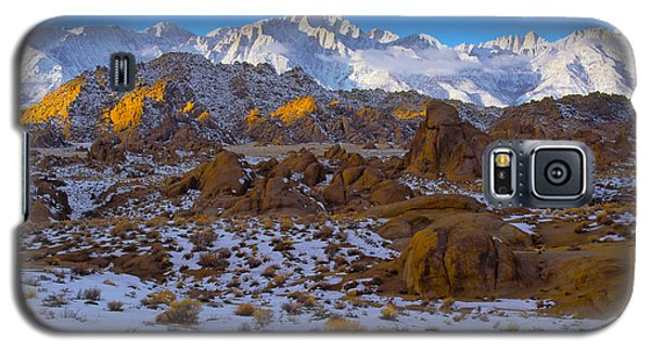 Winter On Whitney Galaxy S5 Case