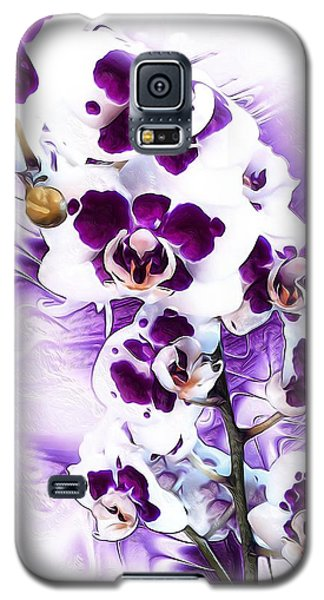 Winter Orchid Galaxy S5 Case
