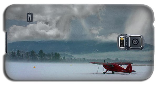 Winter Plane Galaxy S5 Case