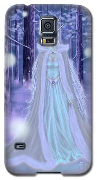 Winter Queen Galaxy S5 Case