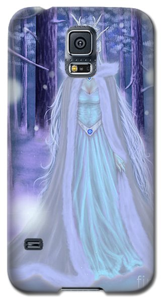 Winter Queen Galaxy S5 Case by Amyla Silverflame
