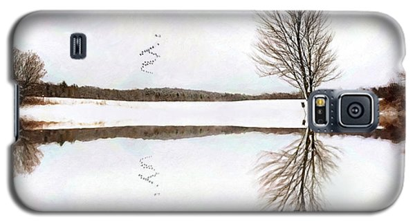 Winter Reflection Galaxy S5 Case
