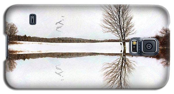 Winter Reflection Galaxy S5 Case