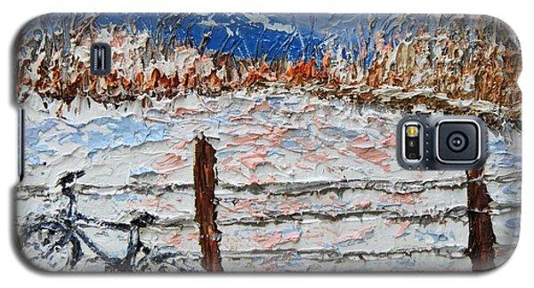 Winter Ride Galaxy S5 Case