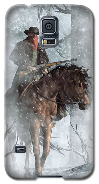Winter Rider Galaxy S5 Case