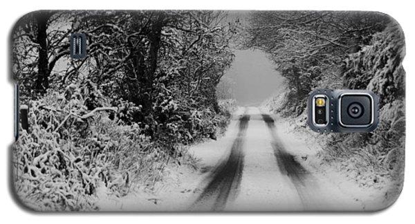 Winter Road Galaxy S5 Case