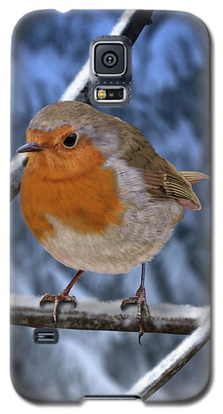 Winter Robin Galaxy S5 Case