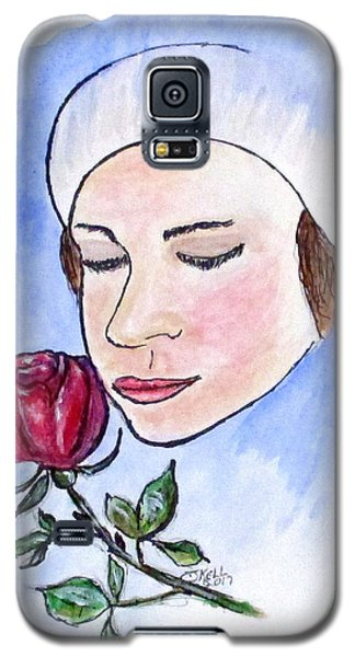 Winter Rose Galaxy S5 Case