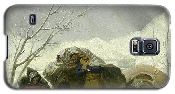 Winter Scene Galaxy S5 Case by Goya