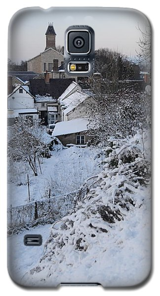 Winter Scene In North Wales Galaxy S5 Case by Harry Robertson