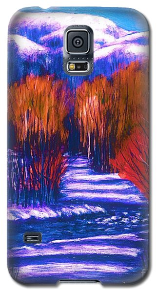 Winter Shadows  Galaxy S5 Case