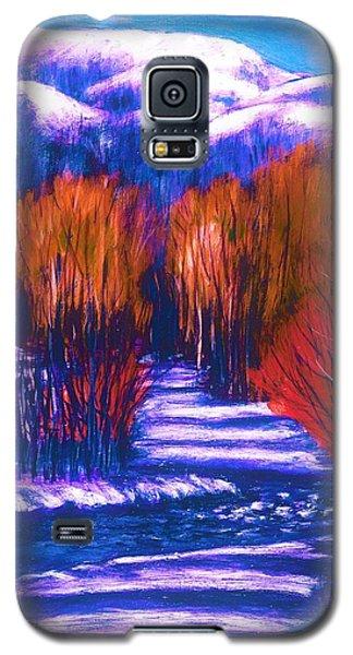 Winter Shadows  Galaxy S5 Case